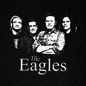 "The Eagles Band 4x4"" Printed Patch"
