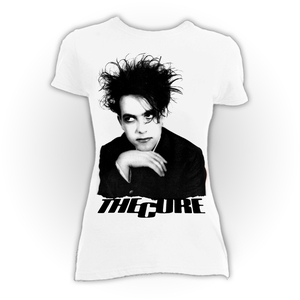 The Cure Robert Smith White Blouse T-Shirt