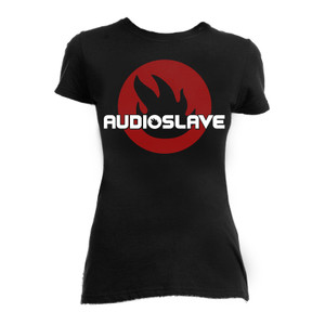 Audioslave Logo Girls T-Shirt