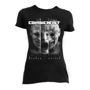 Combichrist Broken United Blouse T-Shirt