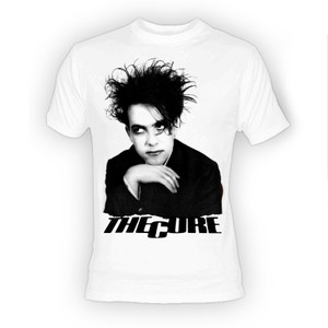 The Cure Robert Smith White T-Shirt
