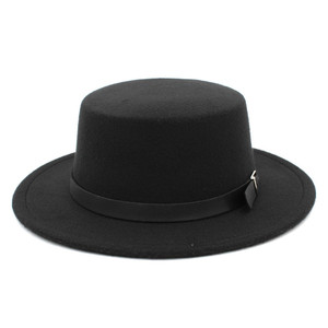 Amish Hat with Buckle Band