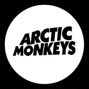 "Arctic Monkeys Logo 4x4"" Printed Sticker"