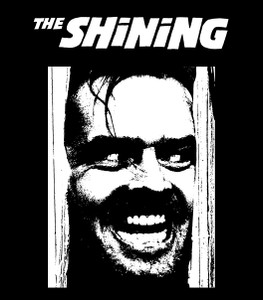 "The Shining 4x4"" Printed Sticker"