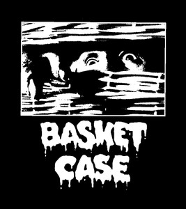 "Basket Case 4x4"" Printed Sticker"