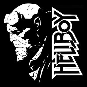 "Hellboy 4x4"" Printed Sticker"