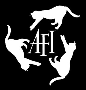 "AFI Logo 4x4"" Printed Sticker"