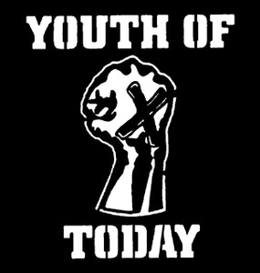 "Youth of Today 4x4"" Printed Sticker"