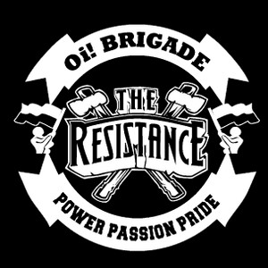 "The Resistance - Oi! Brigade 4x4"" Printed Sticker"