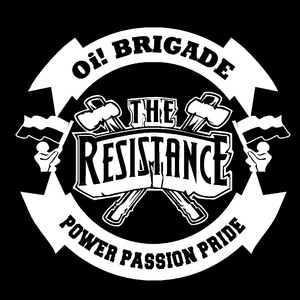 "The Resistance - Oi! Brigade 4x4"" Printed Sticker"