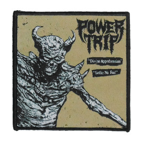"Power Trip - Divine Apprehension 4x4"" WOVEN Patch"