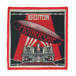 "Led Zeppelin - Mothership 4x4"" WOVEN Patch"
