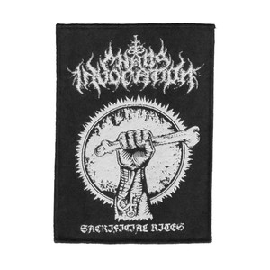 "Chaos Invocation - Sacrificial Rites 4x5"" WOVEN Patch"