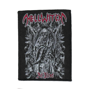 "Hellwitch - At Rest 4x5"" WOVEN Patch"