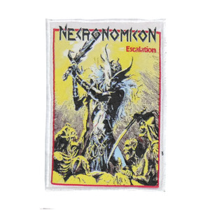 "Necronomicon - Escalation 4x5"" WOVEN Patch"