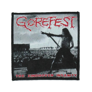 "Gorefest - The Eindhoven Insanity 4X4"" WOVEN Patch"