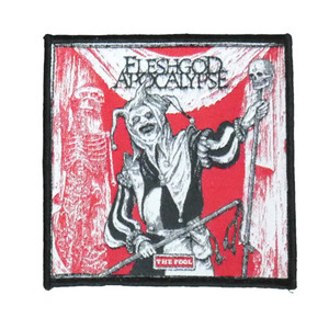 "Fleshgod Apocalypse - The Fool 4X4"" WOVEN Patch"