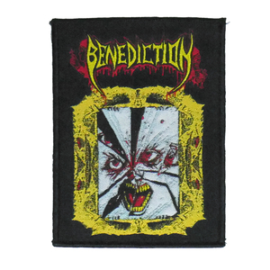 "Benediction - Mirror Face 4x5"" WOVEN Patch"