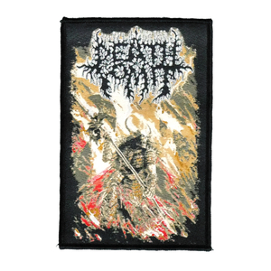 "Death Vomit - Samurai Zombie 4x5"" WOVEN Patch"