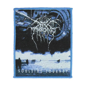 "Darkthrone - Soulside Journey 4x4"" WOVEN Patch"