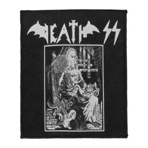 "Death SS - Evil Metal 4x4"" WOVEN Patch"
