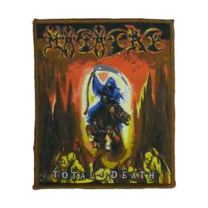 "Masacre - Total Death 4x5"" WOVEN Patch"