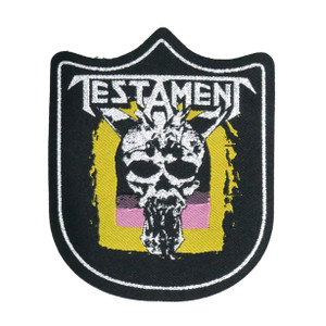 "Testament - Legacy 4x5"" WOVEN Patch"