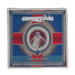 "Amorphis - Death Of A King 4x4"" WOVEN Patch"
