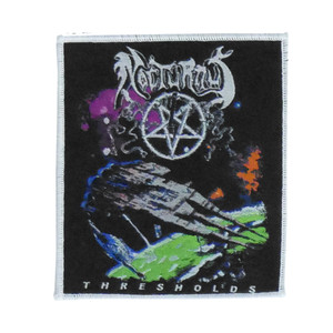 "Nocturnus - Thresholds 4x4"" WOVEN Patch"