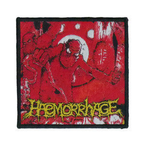 "Haemorrhage - Anatomical Inferno 4x4"" WOVEN Patch"