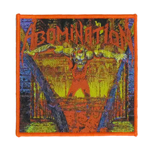 "Abomination - Album Cover 4x4"" WOVEN Patch"