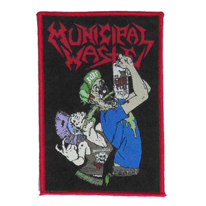"Municicpal Waste - Barf 4x5"" WOVEN Patch"