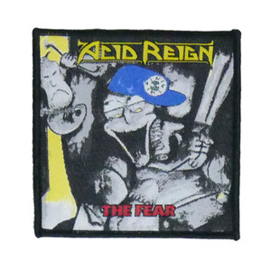 "Acid Reign - The Fear 4x4"" WOVEN Patch"