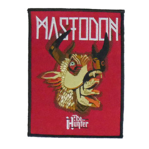 "Mastodon - The Hunter 4x5"" WOVEN Patch"