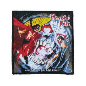 "Mercyful Fate - Countdown To The Coven 4x4"" WOVEN Patch"