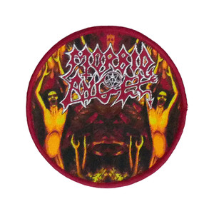 "Morbid Angel - Hell Spirits 4x4"" WOVEN Patch"