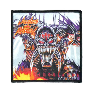 "Judas Priest - Jugulator 4x4"" WOVEN Patch"