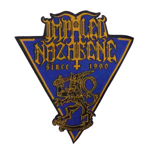 """Impaled Nazarene - Since 1990 5X4"""" WOVEN Patch"""
