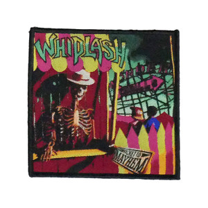 "Whiplash - Ticket To Mayhem 4x4"" WOVEN Patch"