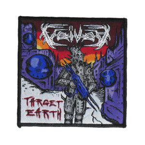 "Voivod - Target Earth 4x4"" WOVEN Patch"