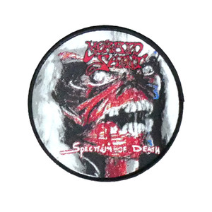 "Morbid Saint - Spectrum Of Death 4x4"" WOVEN Patch"