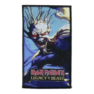 "Iron Maiden - Legacy of the Beast 5X4"" WOVEN Patch"