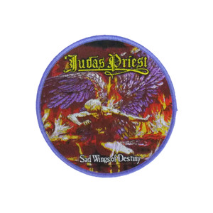 "Judas Priest - Sad Wings of Destiny 4x4"" WOVEN Patch"