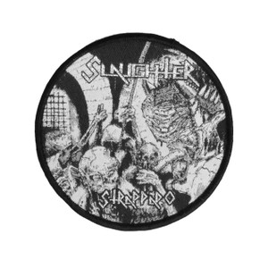 "Slaughter - Strappado 4x4"" WOVEN Patch"