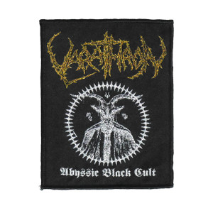 "Varathron - Abyssic Black Cult 5X4"" WOVEN Patch"