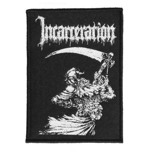 "Incarceration Reaper 3X4.5"" WOVEN Patch"