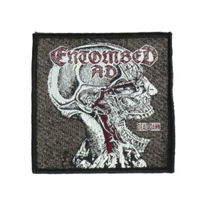 "Entombed A.D. - Dead Dawn 4x4"" WOVEN Patch"