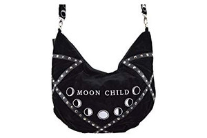 Restyle Clothing - Moon Child Velvet Bag