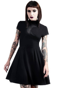 Neverafter Nytes Skater Dress