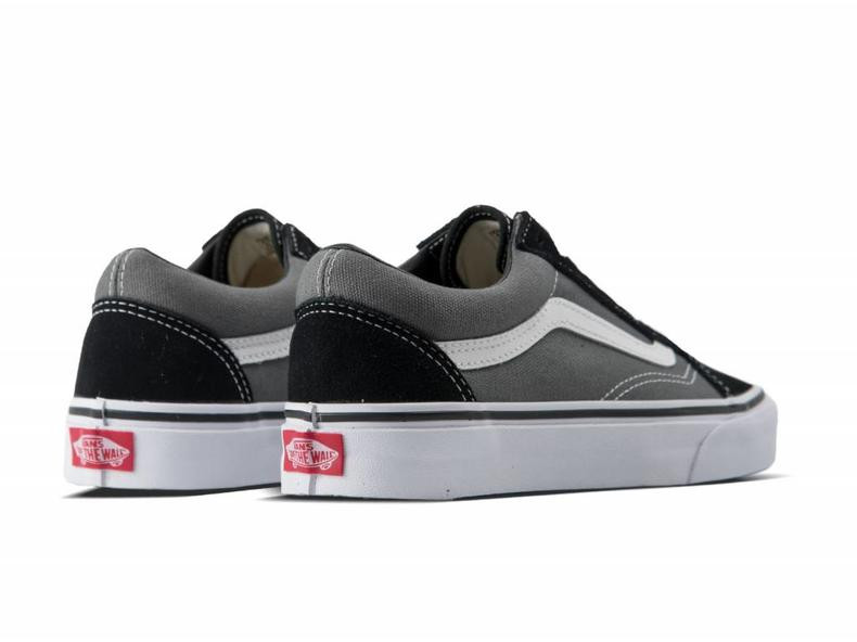 Vans Old Skool Black and Pewter